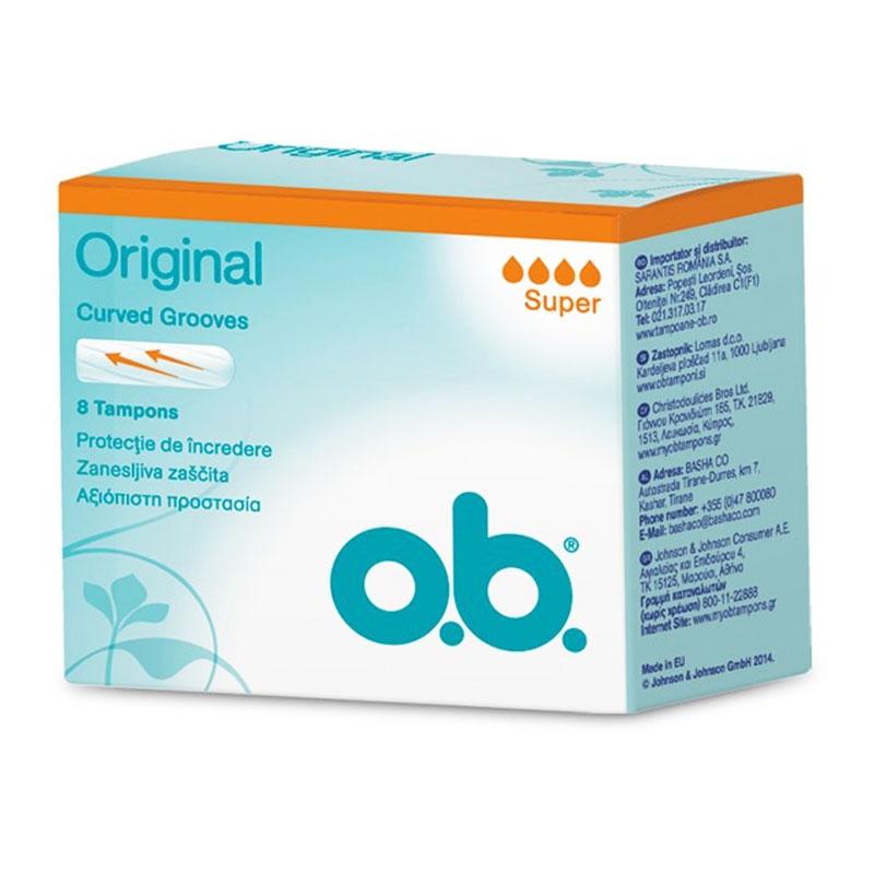 O.B. Original Super 8τεμ.