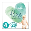 Pampers Pure Protection No 4 (9-14kg) 28τεμ.