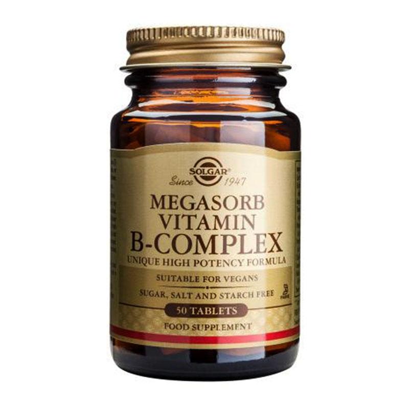 Solgar Megasorb Vitamin B-Complex 50tabs