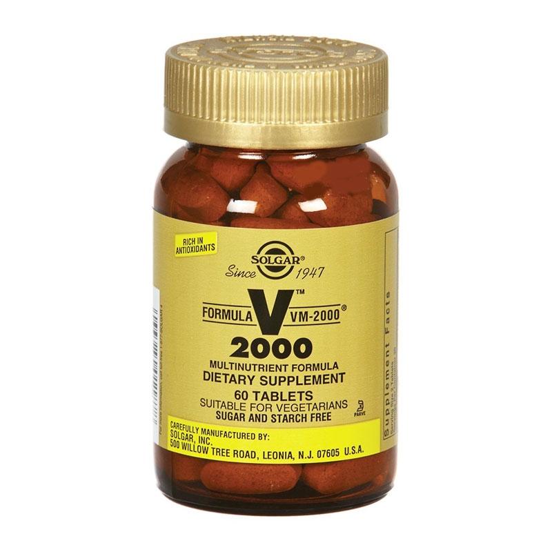 Solgar Formula VM-2000 60 ταμπλέτες