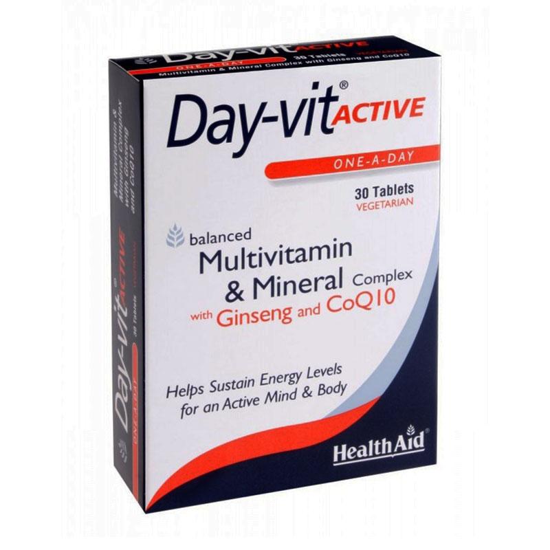 Health Aid Day-vit Active 30tabs