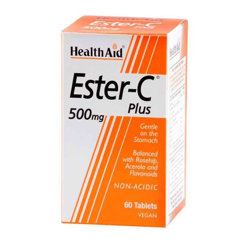Health Aid Ester-C Plus 500mg 60tabs