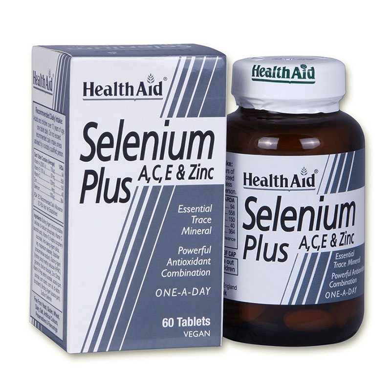 Health Aid Selenium Plus 60 tabs