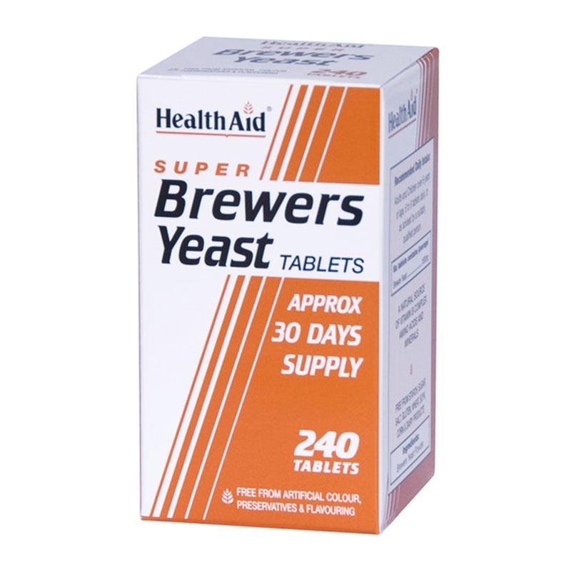 HealthAid - Brewers Yeast 240tabs