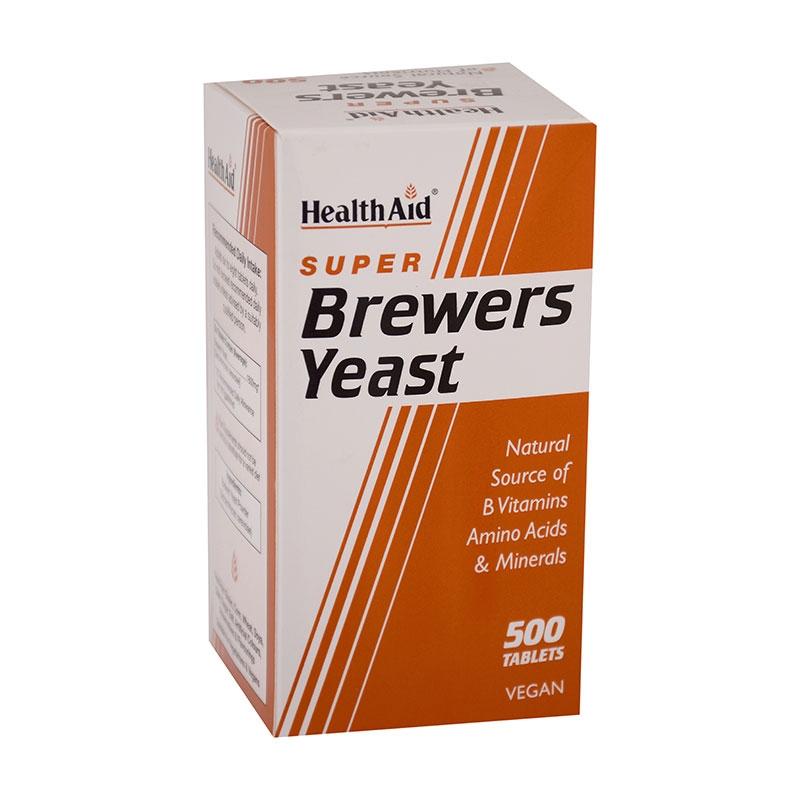 HealthAid - Brewers Yeast 500tabs
