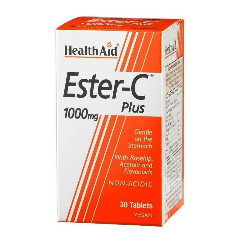 Health Aid Ester-C Plus 1000mg 30tabs