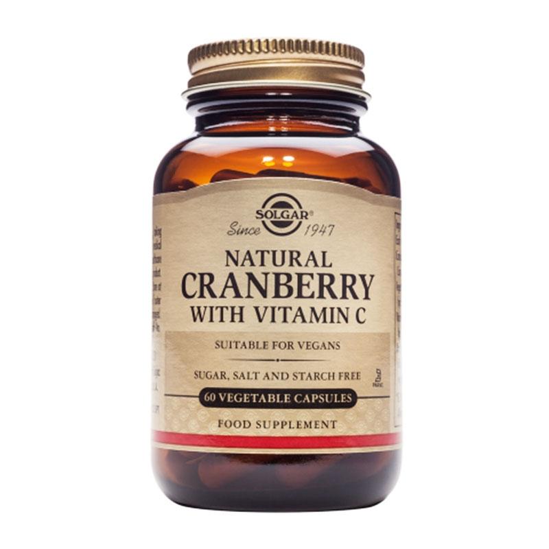 Solgar Cranberry with Vitamin C 60caps