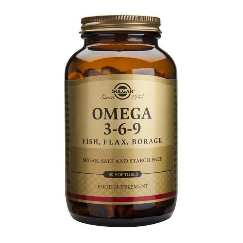 Solgar Omega 3-6-9 60 Μαλακές Κάψουλες