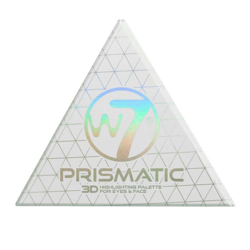 W7 Prismatic 3D Highlighting Palette For Eyes And Face για Πρόσωπο & Μάτια 3.2gr