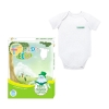 Fortune Kids Eco Λευκό Φορμάκι Νο3 6-12m 1τεμ.