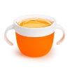 Munchkin Ποτηράκι - Δοχείο για Σνακ Πορτοκαλί 12m+ 1τεμ.