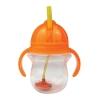 Munchkin Tip & Sip Straw Cup Παιδικό Κύπελλo Πορτοκαλί 6m+ 207ml  1τεμ.