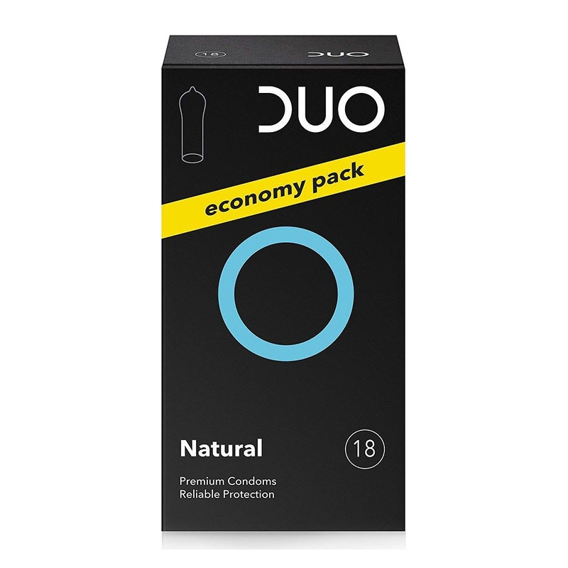 Duo Natural Προφυλακτικά Κανονικά 18τμχ