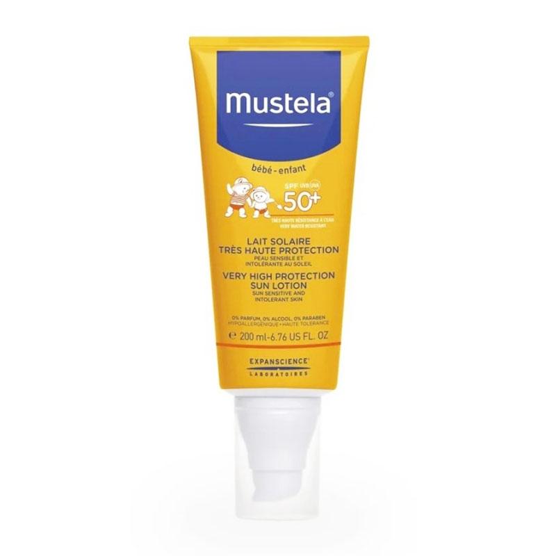 Mustela Very High Protection Sun Lotion Αντηλιακό Γαλάκτωμα για το Σώμα SPF50+ 200ml