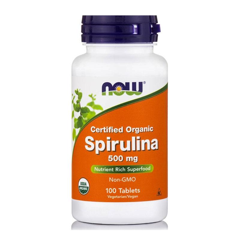 Now Spirulina 500mg 100 Tabs
