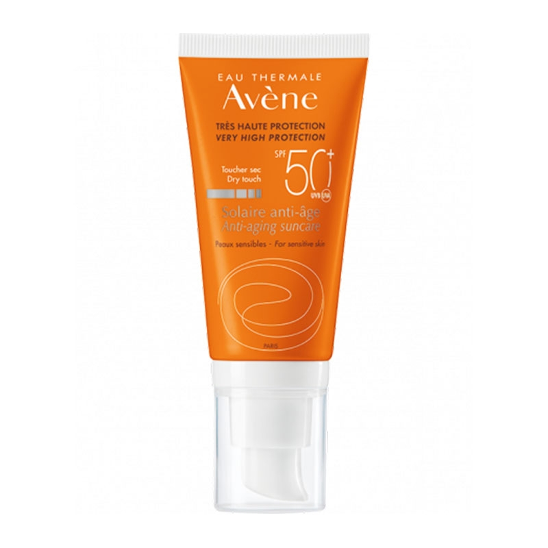 Avene Eau Thermale Solaire Anti Age Dry Touch SPF50+ 50ml