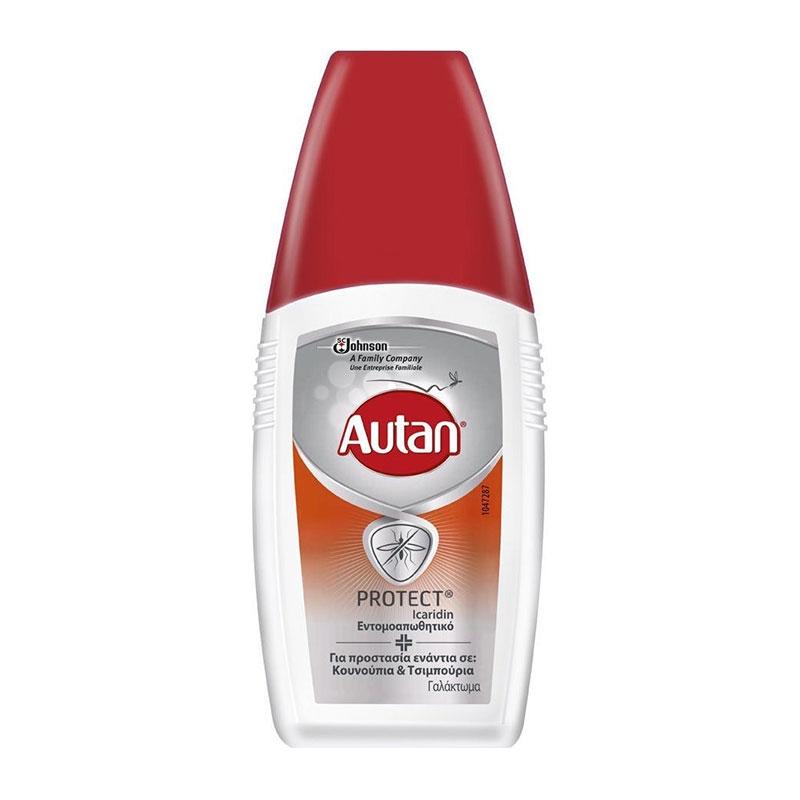 Autan Protect Εντομοαπωθητκό Γαλάκτωμα 100ml