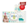 Johnson's Cottontouch Baby Wipes Μωρομάντηλα 56τεμ.