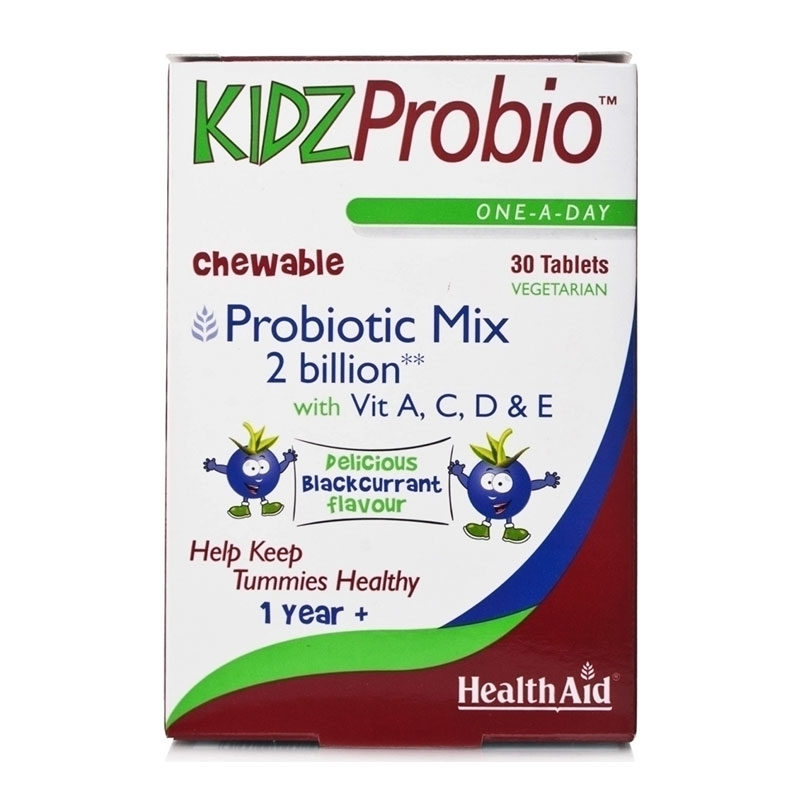Health Aid Kidz Probio 30 Μασώμενες Ταμπλέτες