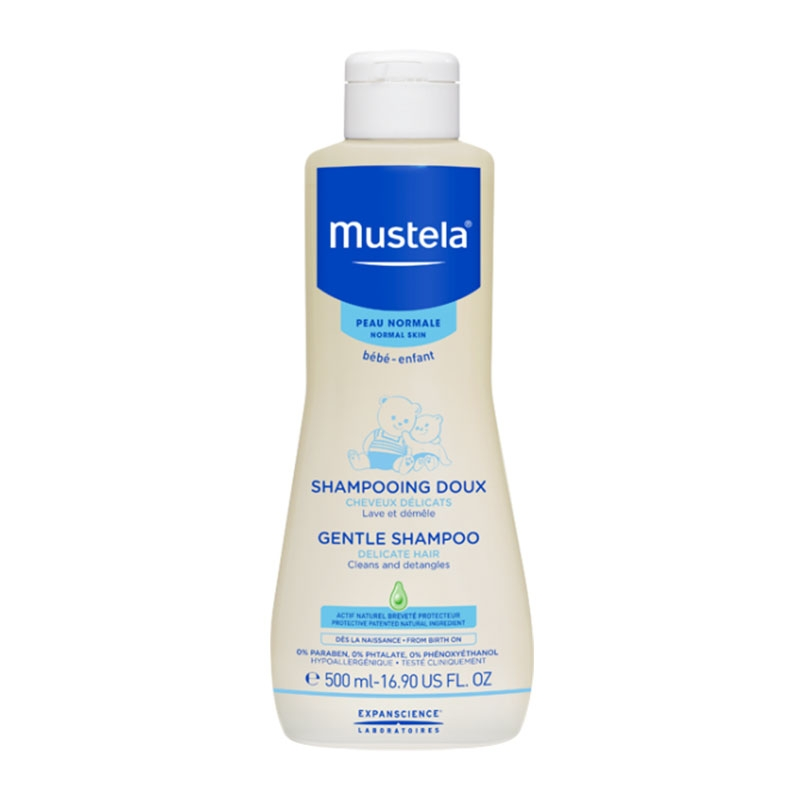 Mustela Gentle Shampoo For Normal Skin 500ml