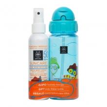 Apivita Suncare Παιδικό Αντιηλιακό Spray SPF50 150ml & Δώρο Παιδικό Παγούρι