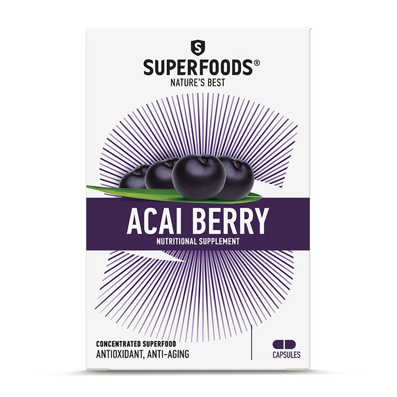 Superfoods Acai Berry 300mg